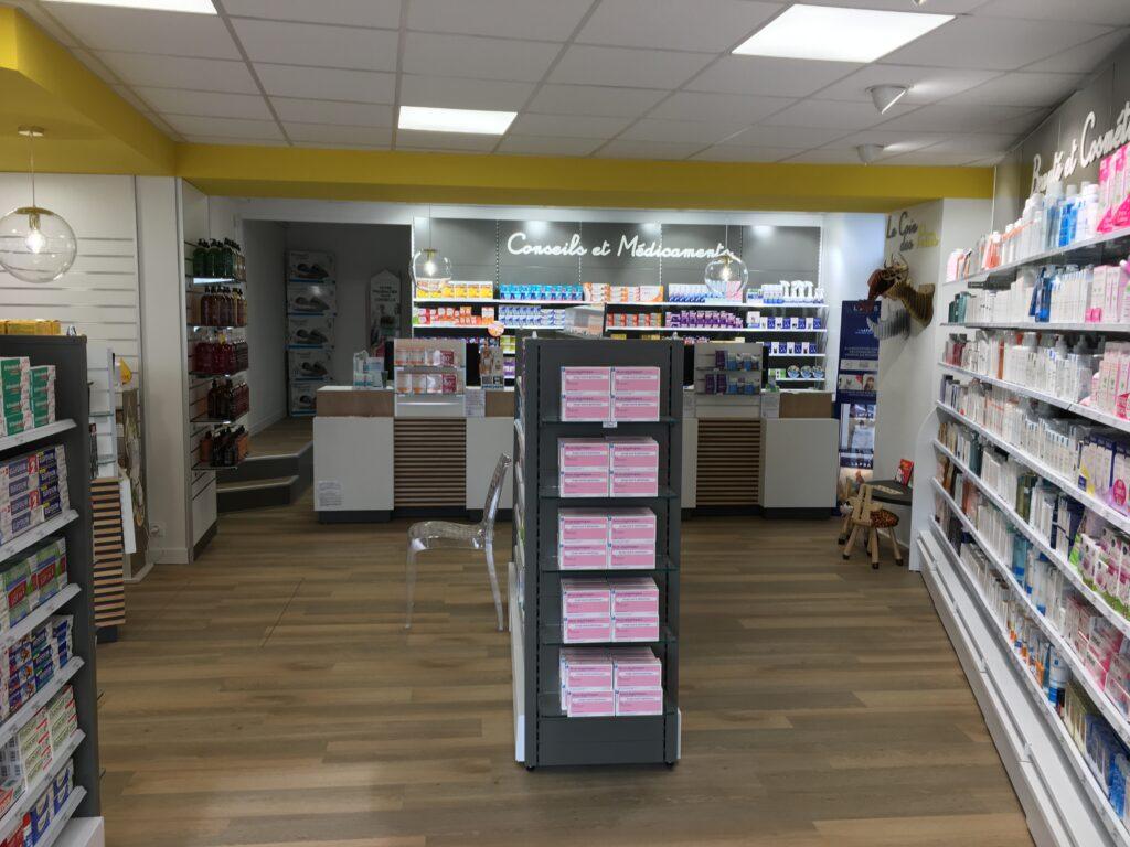Design et agencement de pharmacies
