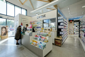Design et agencement de pharmacies