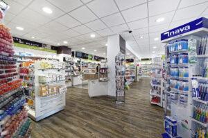 nouveaux rayonnages pour pharmacies