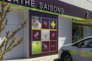 nouvelle devanture pour pharmacies