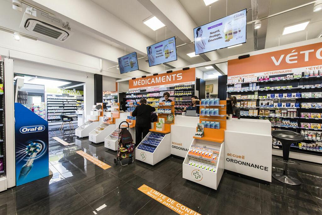 Réalisation et agencement de pharmacies