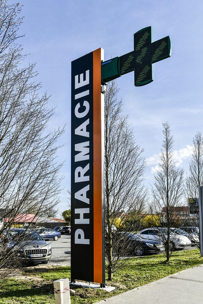 Réalisation d'enseignes de pharmacies