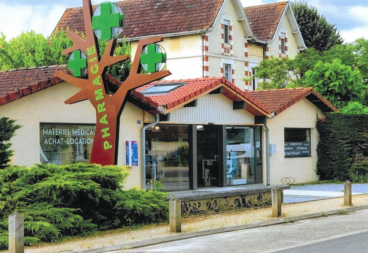 rénovation de pharmacie
