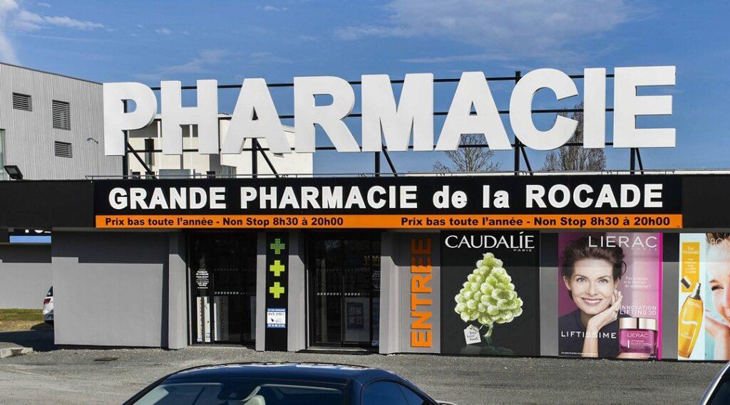 Réalisation de devanture de pharmacies
