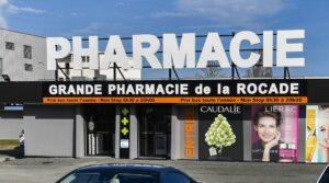 Réalisation de devantures de pharmacies